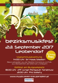 Bezirksmusikfest 2017