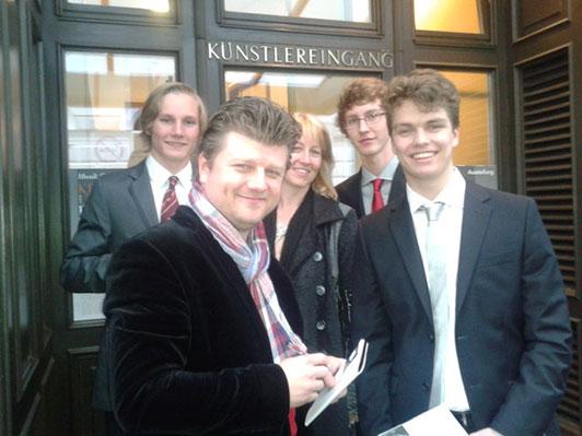 Hornklasse in Wien