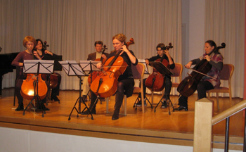 Symphonieorchester Cellogruppe