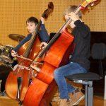 Vorspielstunde Kontrabass und Harfe