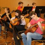 Gitarrenorchester-Konzert