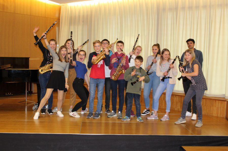 Vorspielabend Klarinette, Saxofon