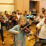 Probe Ministrings und String Kids