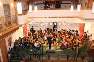Generalprobe zu Schuberts Unvollendeter Sinfonie im Grunerhof