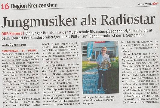 ORF Bundespreisträger Konzert