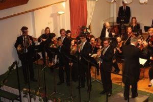 Thomas Buchner, Martin Kraincuk, Florian Hahn und Johannes Sperlich im Concerto von Heinrich Hübler
