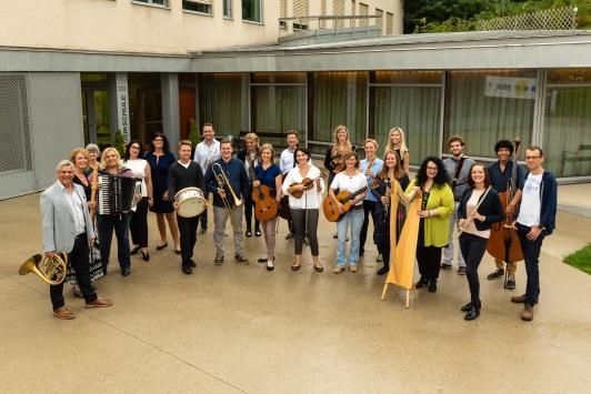 Die LehrerInnen an der Musikschule Bisamberg/Leobendorf/Enzersfeld