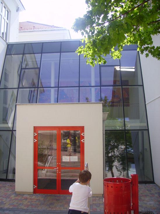 Eingangsbereich für Schüler