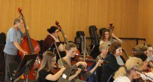 Probenarbeit mit dem Symphonieorchester_3