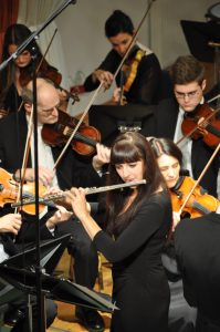 Stefanie Zieser als Solistin beim Eröffnungskonzert des Leobendorfer Herbstes 2015
