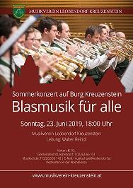 Sommerkonzert der MS Kreuzenstein