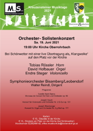 Orchester-Solistenkonzert
